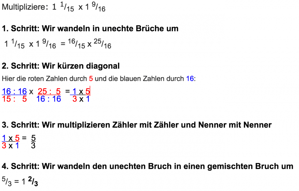Bru00fcche multiplizieren - www.mein-lernen.at